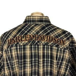 Harley-Davidson 110th Anniversary Plaid Shirt 4XL